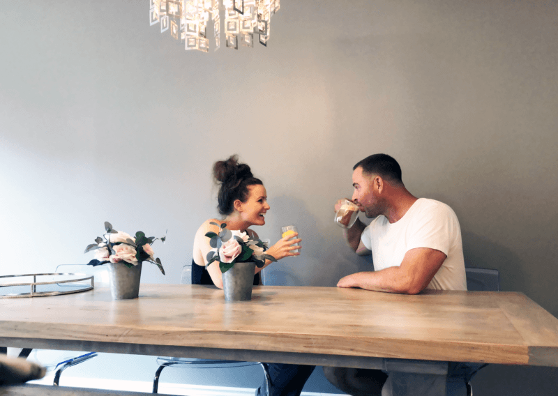 recharging your relationship - enjoy slow days