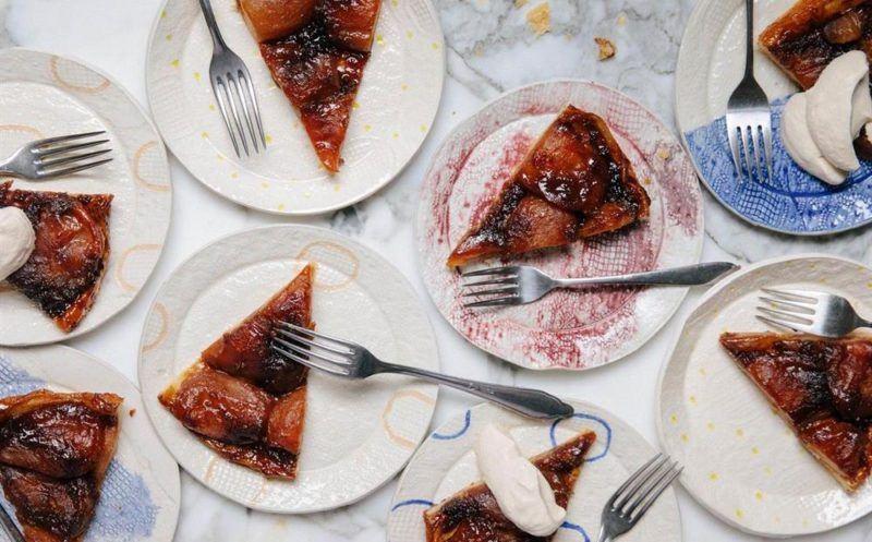 apple tarte - easy clean with skrapr