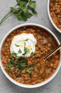 spicy lentil