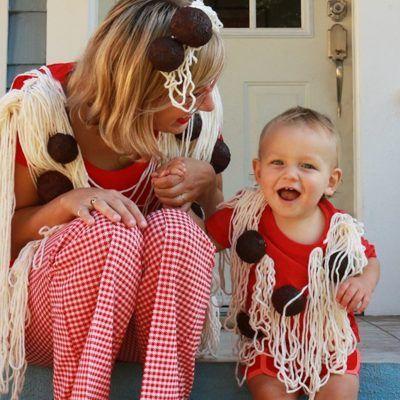 Spaghetti-Meatball-Costume
