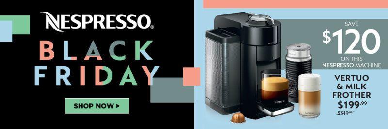 black friday nespresso promo