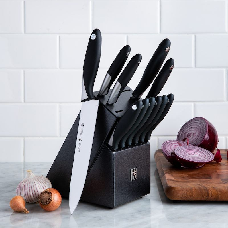 Henckels Fine Edge Fit 12 Piece Knife Block Set