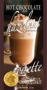 single serve hazelnut hot chocolate packets