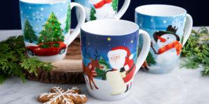 Holiday mug sets