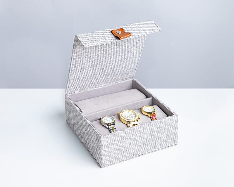 Watch organizer with lid