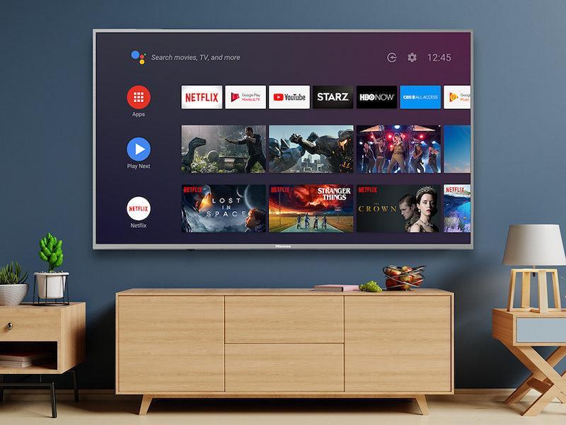 "hisense 55"" smart TV - december warehouse sale"