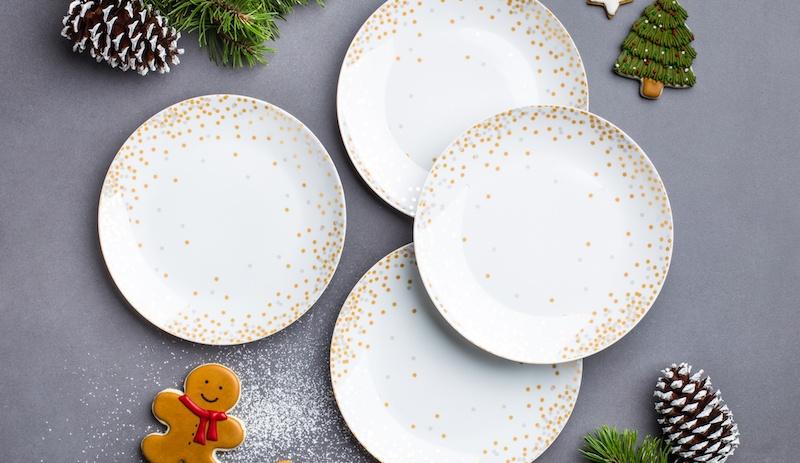 confetti side plates