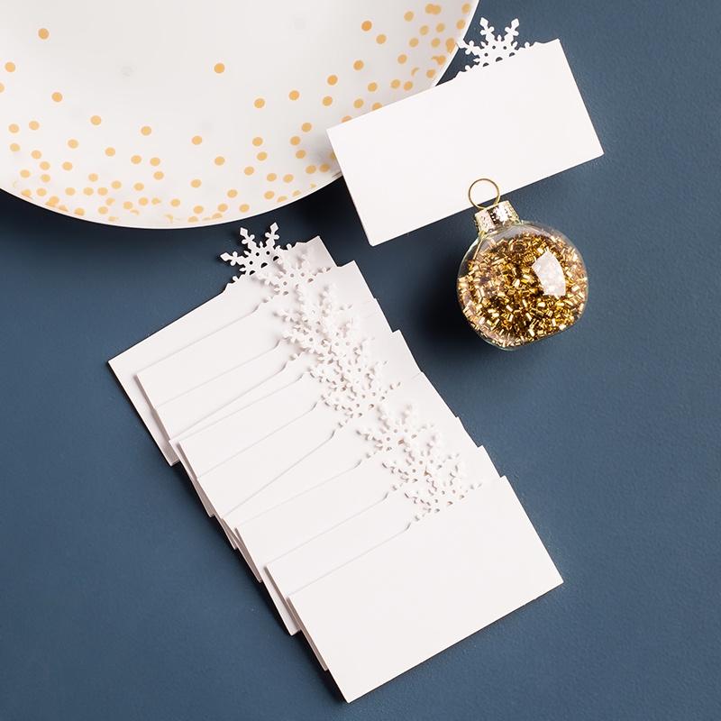 Christmas name cards