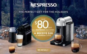 nespresso year end promo offer