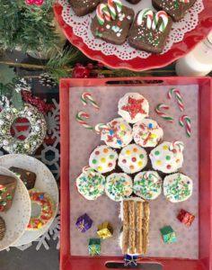 cupcake tree 3 easy Christmas treats