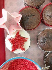 cupcakes in progress
