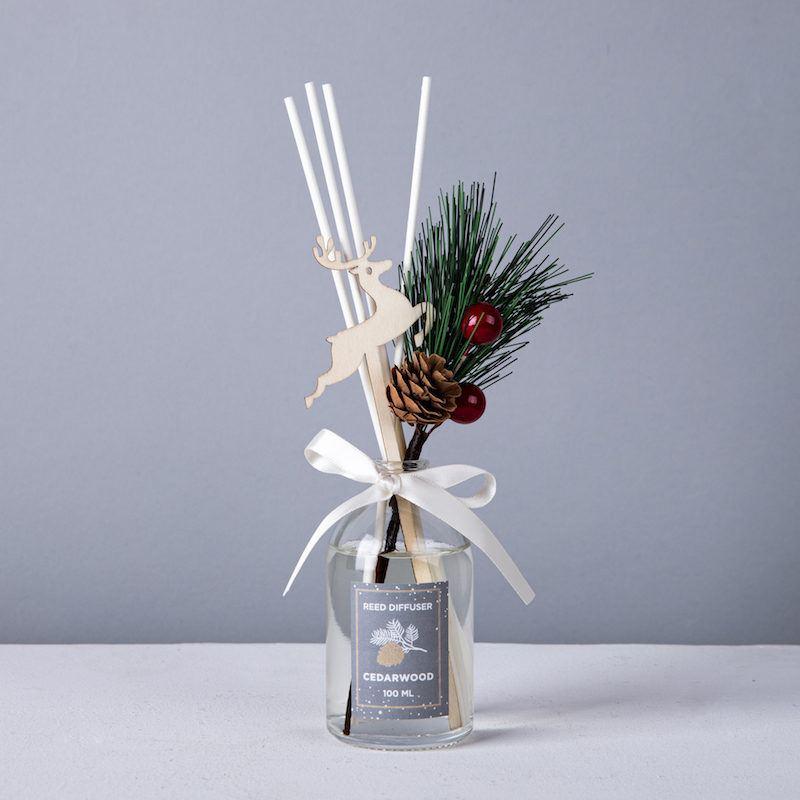 holiday reed diffuser