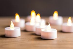 led candles tea lights