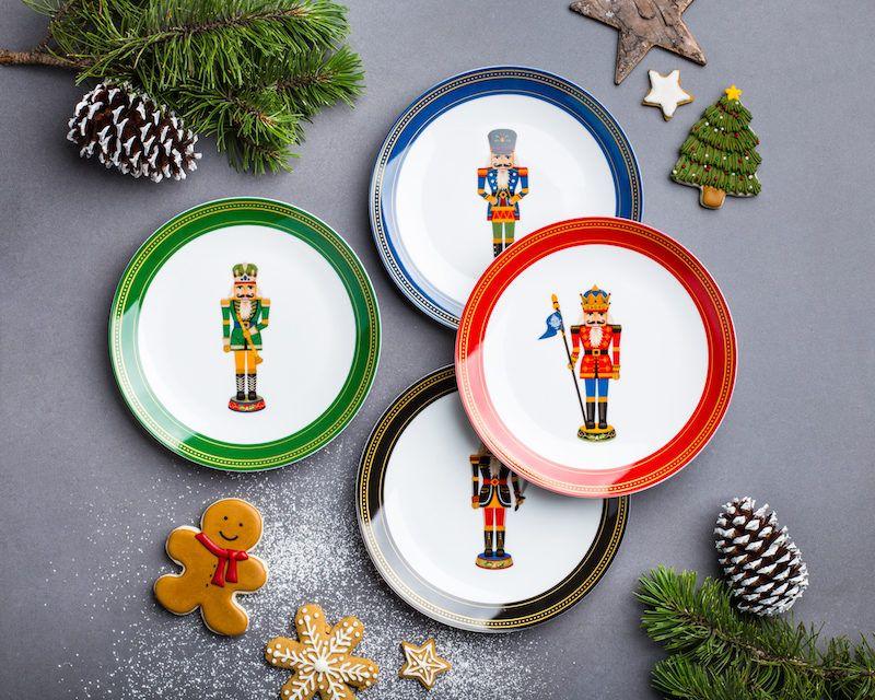 nutcracker plates gifts under $20