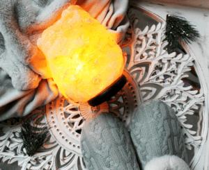 salt lamp slippers
