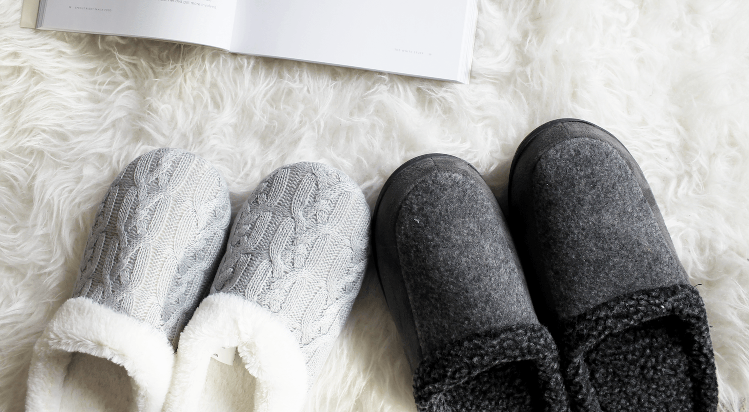 Slippers for Her and for Him