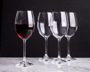 Trudeau Savour Red Wine Glass - Set of 4