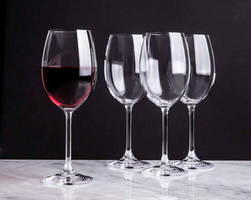 Trudeau Savour Red Wine Glass - Set of 4