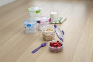 Sistema Klip It Salad Containers