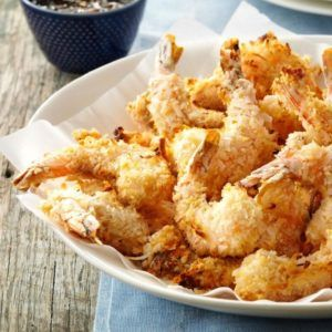 air fried coconut shrimp
