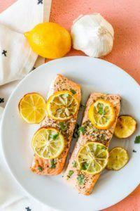 Easy-Air-Fryer-Lemon-Garlic-Salmon-Picture