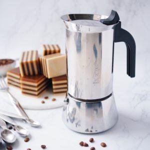 Bialetti Venus Stovetop Espresso Maker (Stainless Steel)