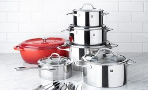 Zwilling Essence Cookware Set
