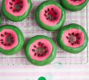 watermelon-doughnuts