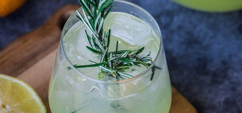 Rosemary Sparkling Drink