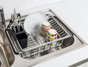 KSP Avanti Over Sink Dish Rack (Aluminum)