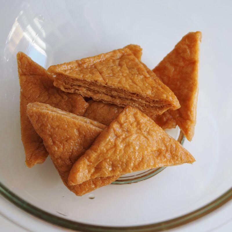 Fried tofu pockets