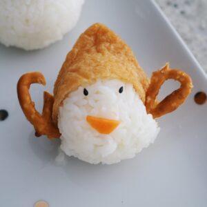 elf tofu rice sushi ball