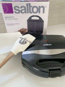 salton waffle maker from kitchen stuff plus