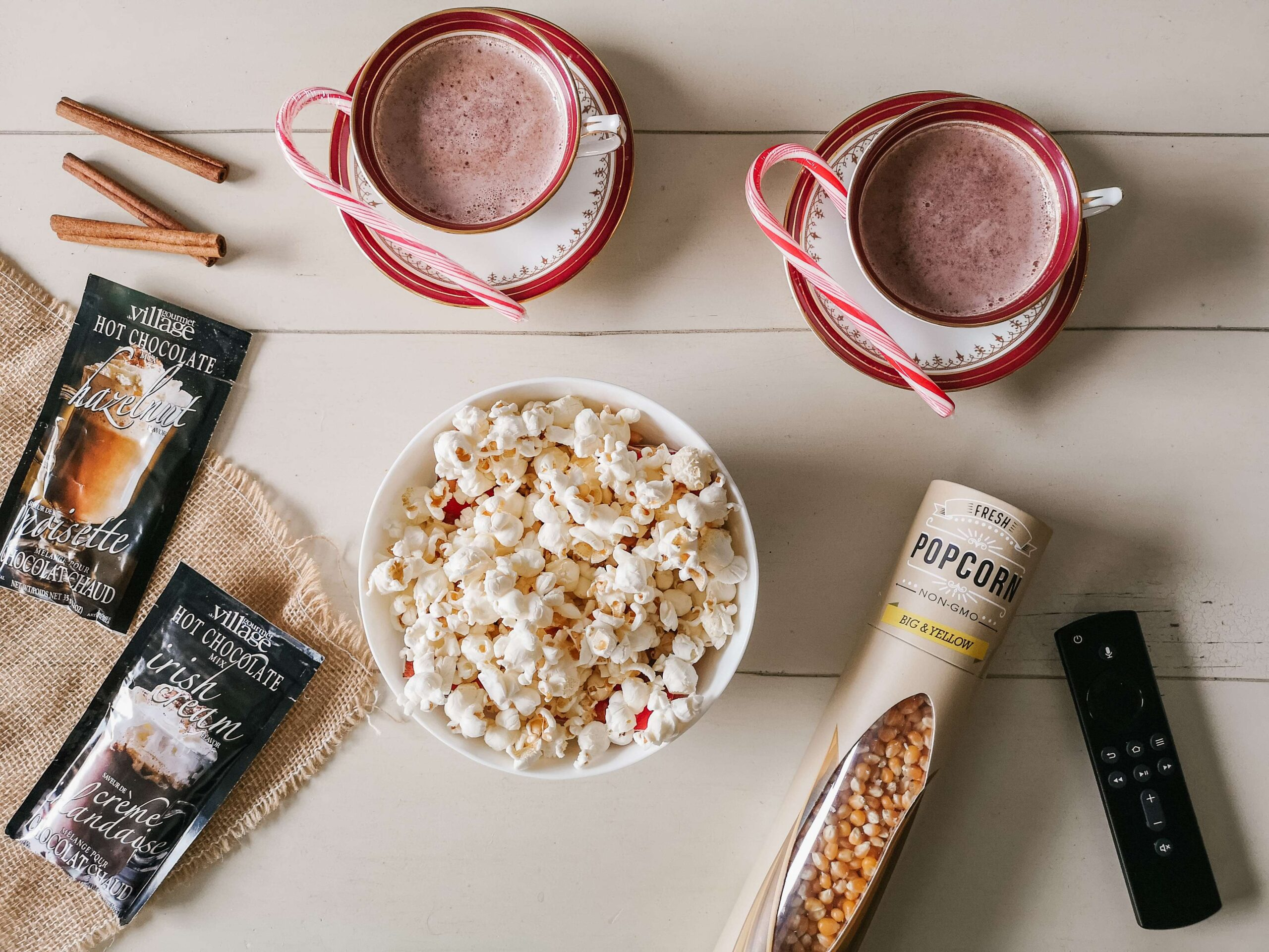christmas movie night essentials
