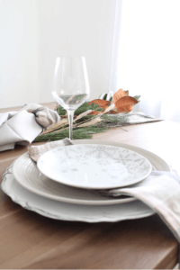 place setting using Kitchen Stuff Plus products