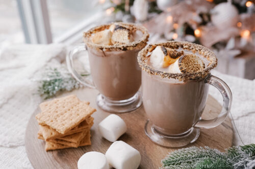 bonfire s'mores cocktail