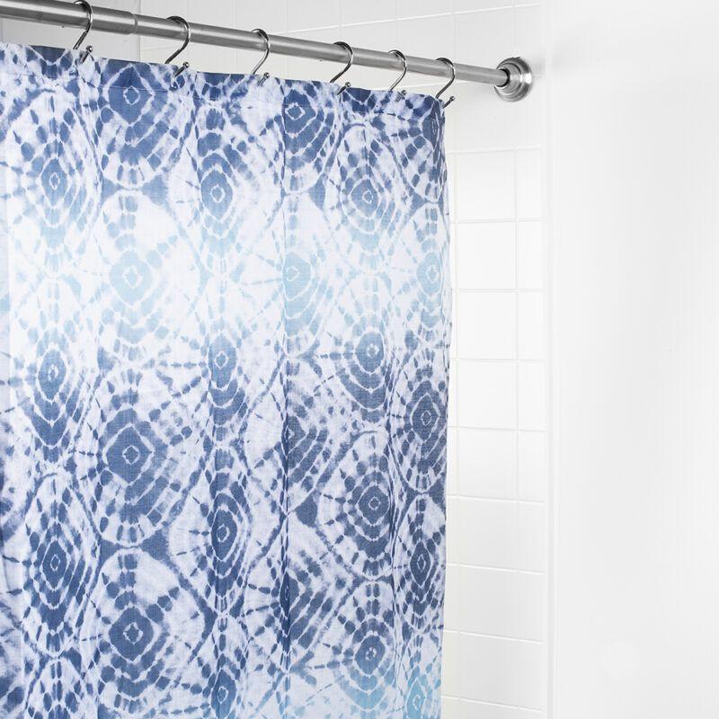 1623 Splash Polyester Shower Curtain 'Ambu'